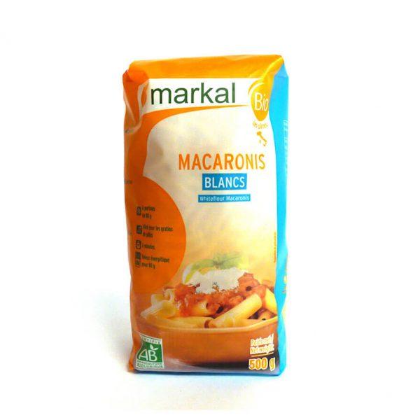 Macaronis blancs bio
