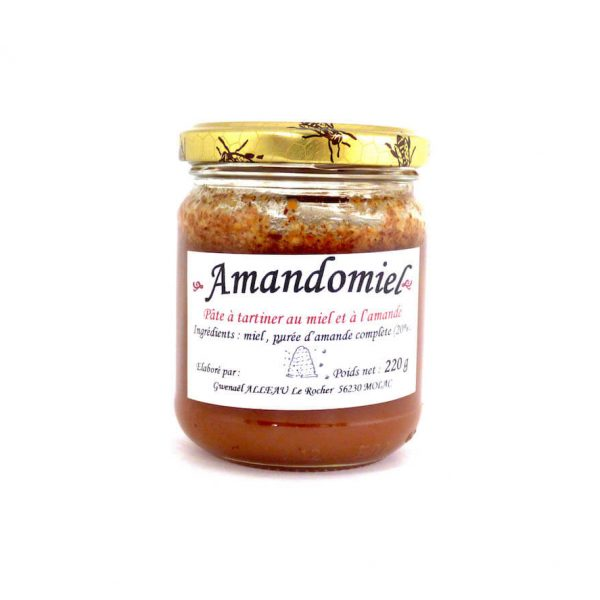 Amandomiel - Pâte à tartiner au miel et à l'amande 220g