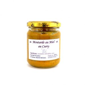 Moutarde au miel au curry 200g