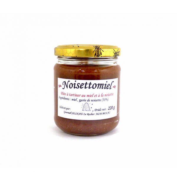 Noisettomiel - Pâte a tartiner au miel et à la noisette 220g