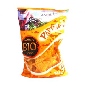 Tortillas chips paprika bio