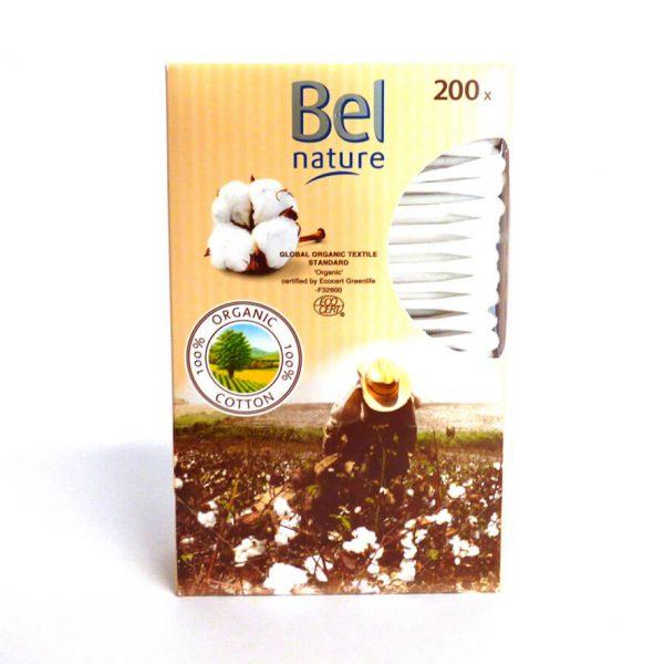 Cotons tiges bio - Bâtonnets ouatés bio - Bel nature