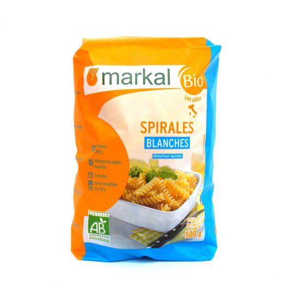 Spirales blanches bio 500g - Markal