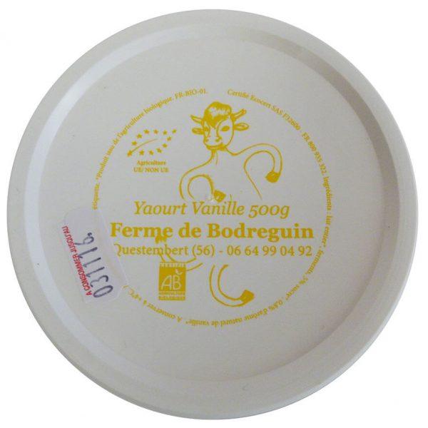 Yaourt vanille bio 500g