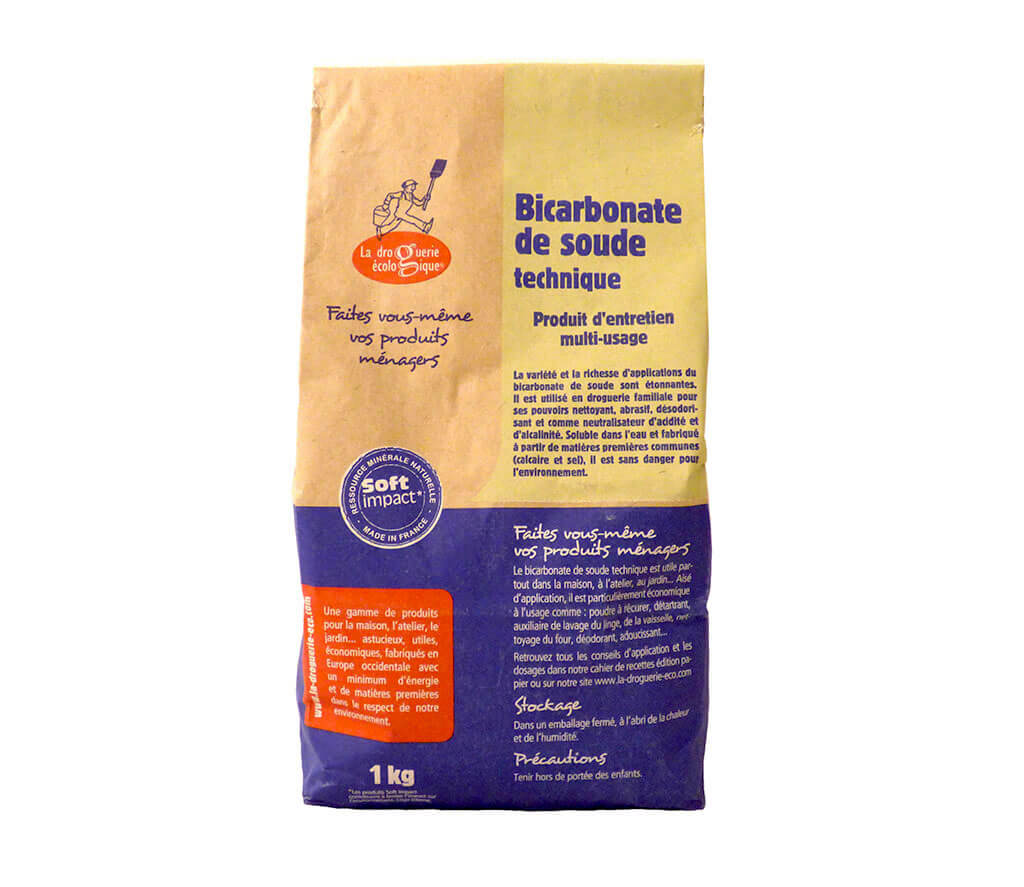 bicarbonate de soude technique 1kg produit d 39 entretien cologique. Black Bedroom Furniture Sets. Home Design Ideas