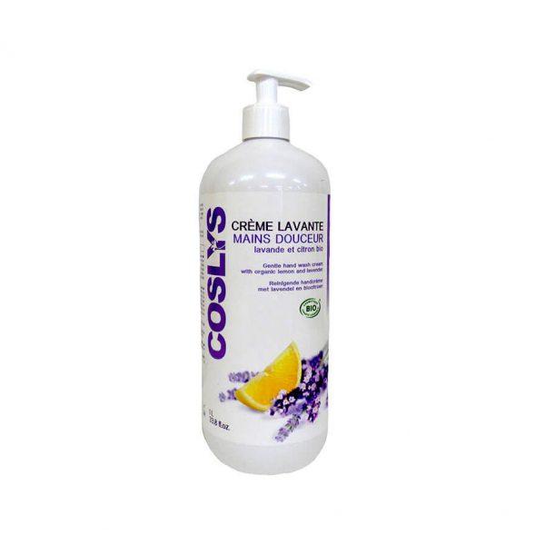 Crème lavante mains douceur lavande et citron bio