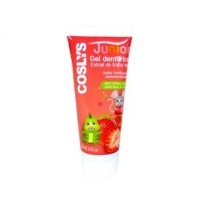 Gel dentifrice extrait de fraise bio junior