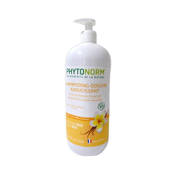 Shampooing-douche adoucissant - Senteur vanille-monoï