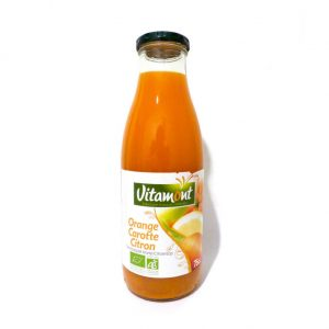 Jus orange carotte citron biologique
