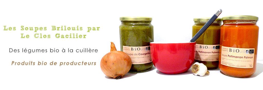 Soupes Brilouis par Le Clos Gacilier - Sulniac (Newsletter Mars 2017)