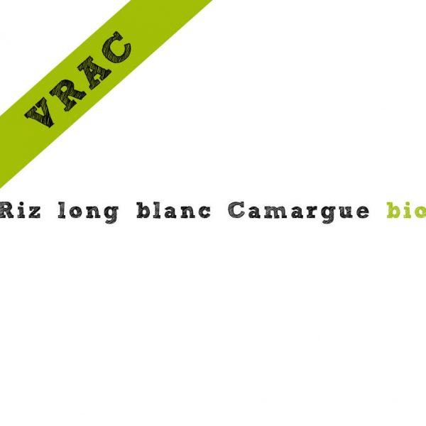 Riz long blanc Camargue bio en vrac