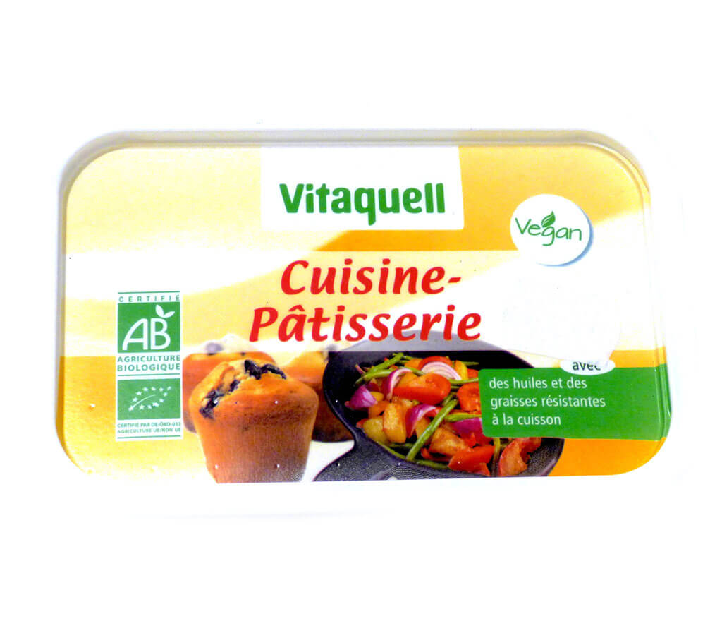 Margarine cuisine p tisserie bio 500g huiles et graisses for Cuisine patisserie