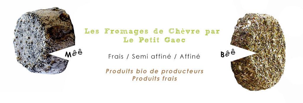 Fromages de chèvre bio
