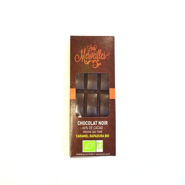 Chocolat Noir caramel rapadura bio