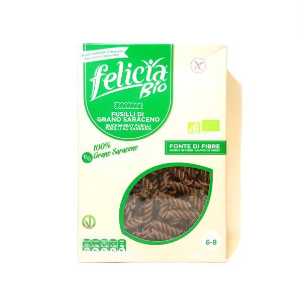 Pâtes bio Fusilli sans gluten