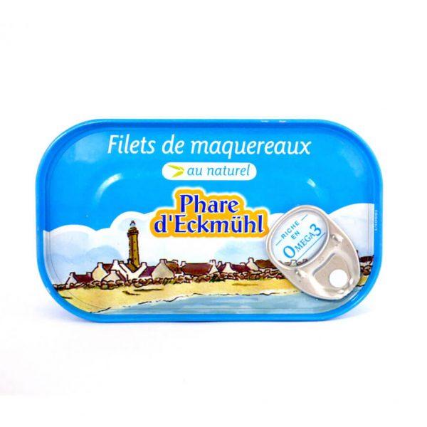 Filets de maquereaux au naturel - Phare d'Eckmühl