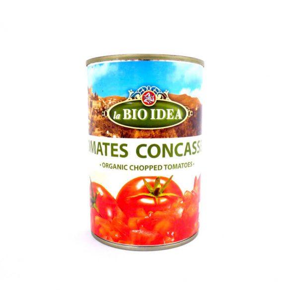 Tomates concassées bio - la BIO IDEA