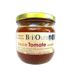 Sauce tomate échalote 280g Brilouis