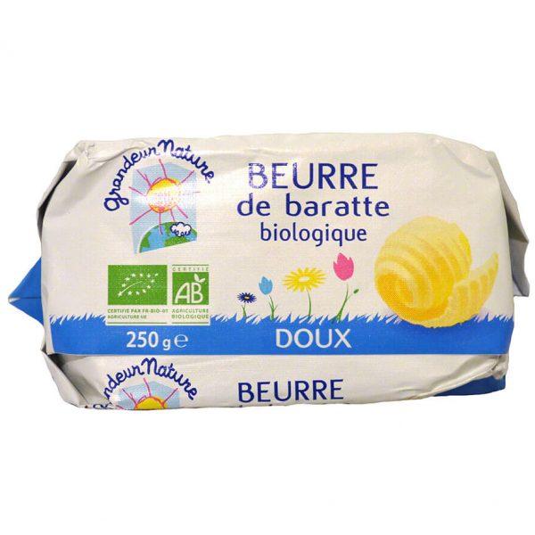 Beurre de baratte bio doux