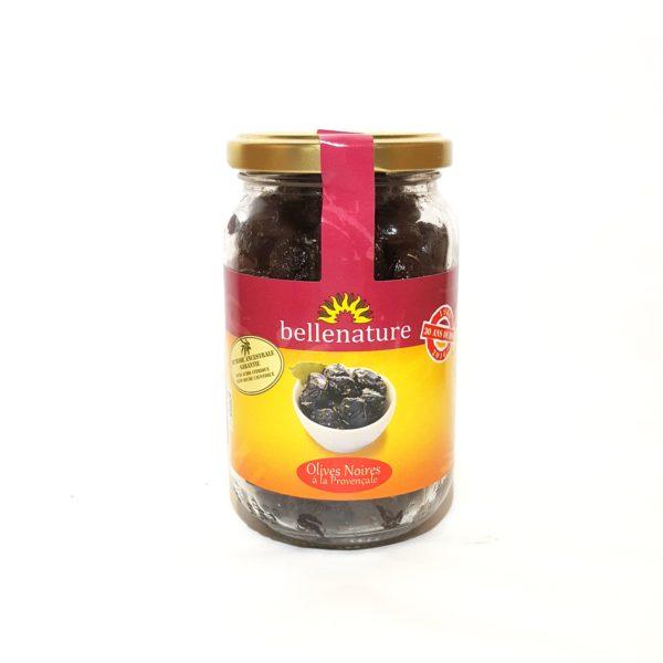 Olives noires bio à la Provençale-Epicerie biologique-AB-Questembert-Halle Terre Native